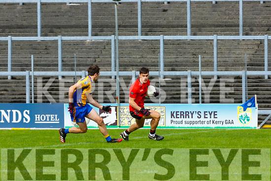 Gavan Grady  Glenbeigh-Glencar takes on Ger Hartnett Beaufort during their Club Intermediate qf in Fitzgerald Stadium on Sunday