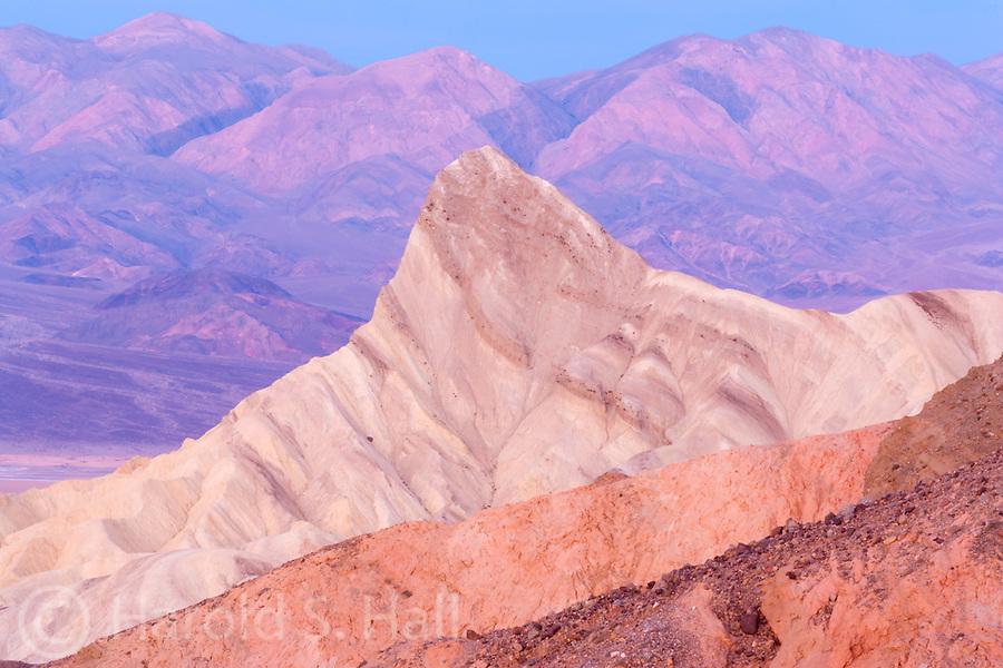Zabrisky Point sunrise Death Valley California