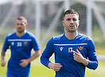 St Johnstone players back for the first day of training at McDiarmid Park in preparation for the 2019-2020 season…25.06.19<br />Pictured Michael O'Halloran<br />Picture by Graeme Hart.<br />Copyright Perthshire Picture Agency<br />Tel: 01738 623350  Mobile: 07990 594431