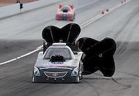 Nov. 1, 2008; Las Vegas, NV, USA: NHRA funny car driver Jim Head during qualifying for the Las Vegas Nationals at The Strip in Las Vegas. Mandatory Credit: Mark J. Rebilas-