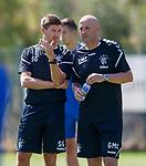 18.06.18  Steven Gerrard and Gary McAllister