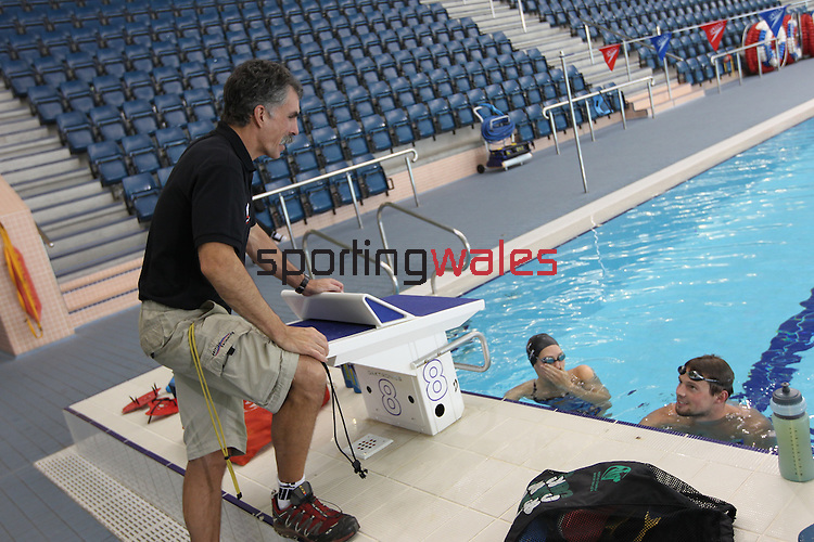 Bud McAllister - Swimming coach..27.10.10.©Steve Pope