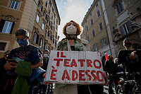 30.10.2020 - L'Assenza Spettacolare - Show, Art, Entertainment and Culture Workers' Demo