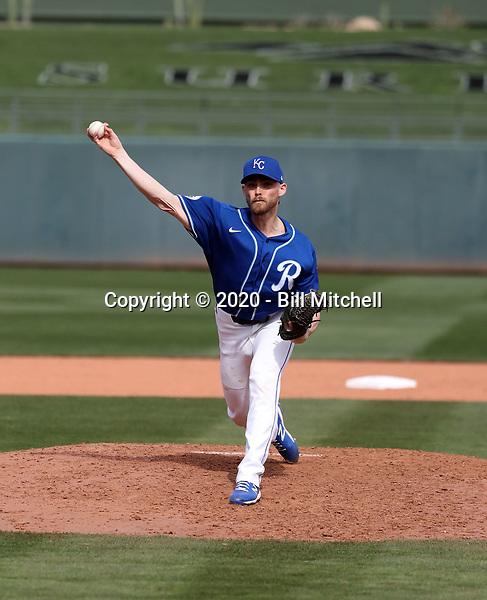 Josh Staumont - Kansas City Royals 2020 spring training (Bill Mitchell)
