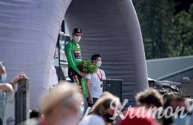 Wout Van Aert (BEL/Jumbo-Visma) wins the Green Jersey<br /> <br /> Stage 5: Megève to Megève (154km)<br /> 72st Critérium du Dauphiné 2020 (2.UWT)<br /> <br /> ©kramon