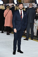 "LONDON, UK. November 20, 2019: Sam Claflin arriving for the ""Charlie's Angels"" premiere at the Curzon Mayfair, London.<br /> Picture: Steve Vas/Featureflash"
