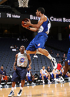 Bishop Daniels at the NBPA Top100 camp at the John Paul Jones Arena Charlottesville, VA. Visit www.nbpatop100.blogspot.com for more photos. (Photo © Andrew Shurtleff)