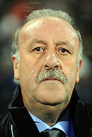 Spain manager Vicente Del Bosque. USA defeated Spain 2-0 during the semi-finals of the FIFA Confederations Cup at Free State Stadium in Manguang/Bloemfontein, South Africa on June 24, 2009..