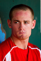 Ryan Jackson (23) of the Springfield Cardinals during a game against the San Antonio Missions on May 30, 2011 at Hammons Field in Springfield, Missouri.  Photo By David Welker/Four Seam Images