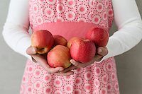 organic produce, apples