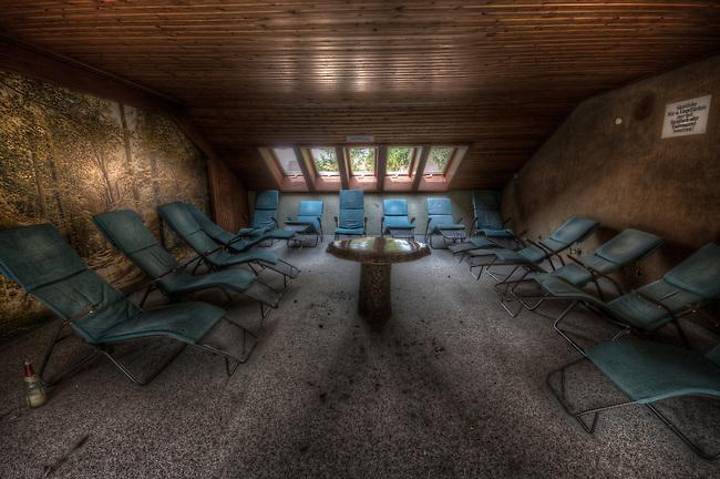 Forgottten health spa hotel, in west Germany