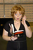 Kathy Brier signing book Feb 16, 2005