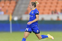 Houston, TX - Sunday Sept. 25, 2016: Manon Melis during a regular season National Women's Soccer League (NWSL) match between the Houston Dash and the Seattle Reign FC at BBVA Compass Stadium.