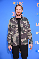 """LOS ANGELES, CA - JUNE 10: Andrew Santino attends the Season Two Red Carpet event for FXX's """"DAVE"""" at the Greek Theater on June 10, 2021 in Los Angeles, California. (Photo by Frank Micelotta/FXX/PictureGroup)"""