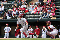 31 May 2008: Stanford Cardinal Jake Schlander during Stanford's 5-1 win against the Arkansas Razorbacks in game 3 of the NCAA Stanford Regional at Sunken Diamond in Stanford, CA.