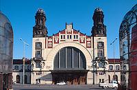 Tschechien, Prag, Wilsonbahnhof, Unesco-Weltkulturerbe