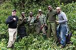 David & Ruben With Gorilla Tracking Team
