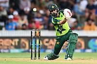 20th December 2020; Hamilton, New Zealand;  Mohammad Hafeez,  New Zealand Black Caps versus Pakistan, International Twenty20 Cricket. Seddon Park, Hamilton, New Zealand.