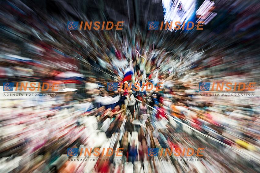 Public<br /> Day 9 01/08/2015<br /> XVI FINA World Championships Aquatics<br /> Synchro<br /> Kazan Tatarstan RUS July 24 - Aug. 9 2015 <br /> Photo Giorgio Scala/Deepbluemedia/Insidefoto