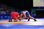 Glasgow 2014 Commonwealth Games<br /> Craig Pilling v Omar Tafail<br /> SECC<br /> 29.07.14<br /> ©Steve Pope-SPORTINGWALES