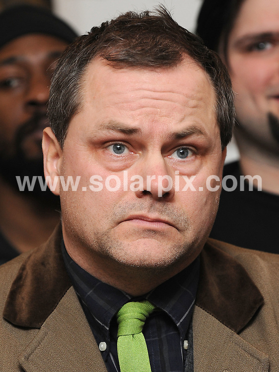 **ALL ROUND PICTURES FROM SOLARPIX.COM**.**WORLDWIDE SYNDICATION RIGHTS**.Channel 4 announces Comedy Gala at the O2 in aid of Great Ormond St Hospital, London, UK. 11 February 2010.This pic: Jack Dee..JOB REF: 10665 SSD     DATE: 11_02_2010.**MUST CREDIT SOLARPIX.COM OR DOUBLE FEE WILL BE CHARGED**.**MUST NOTIFY SOLARPIX OF ONLINE USAGE**.**CALL US ON: +34 952 811 768 or LOW RATE FROM UK 0844 617 7637**