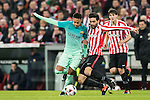 Neymar da Silva Santos Junior of FC Barcelona fights for the ball with Eneko Boveda Altube of Athletic Club during their Copa del Rey Round of 16 first leg match between Athletic Club and FC Barcelona at San Mames Stadium on 05 January 2017 in Bilbao, Spain. Photo by Victor Fraile / Power Sport Images