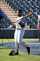 Termarr Johnson participates in the 2020 MLB Dream Series on January 17-20, 2020 at the Los Angeles Angels training complex in Tempe, Arizona (Bill Mitchell)