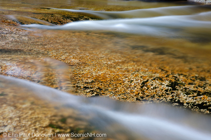 Swift River in the White Mountain National Forest of  New Hampshire USA