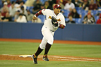 March 7, 2009:  First baseman Miguel Cabrera (24) of Venezuela during the first round of the World Baseball Classic at the Rogers Centre in Toronto, Ontario, Canada.  Venezuela defeated Italy 7-0 in both teams opening game of the tournament.  Photo by:  Mike Janes/Four Seam Images