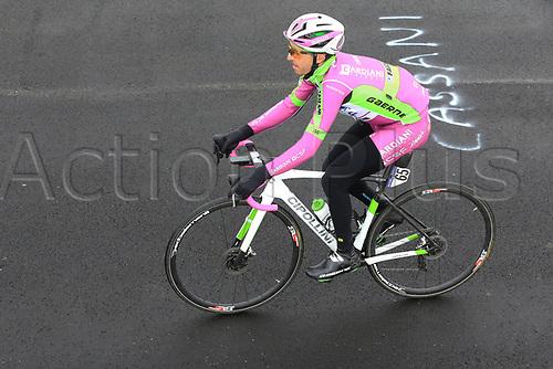 24th May 2021, Giau Pass, Italy; Giro d'Italia, Tour of Italy, route stage 16, Sacile to Cortina d'Ampezzo ; 65 GABBURO Davide ITA