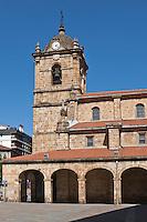 Europe/Espagne/Pays Basque/Guipuscoa/Goierri/Legaspi: Église de Legazpi
