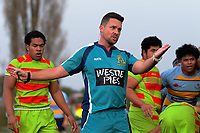 Action from the Auckland 1st XV rugby match between Mount Albert Grammar School and Aorere College at MAGS in Auckland, New Zealand on Saturday, 24 June 2017. Photo: Dave Lintott / lintottphoto.co.nz