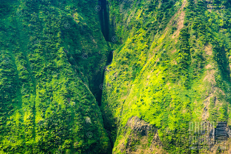 A hiker's view of Waipi'o Valley, Island of Hawai'i.