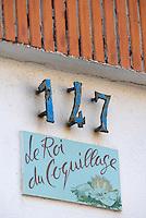 Europe/France/Provence-Alpes-Côte d'Azur/13/Bouches-du-Rhône/Marseille: Détail d'un cabanon de pécheur du vallon des Auffes