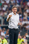Coach Mauricio Pellegrino of CD Leganes reacts during the La Liga 2018-19 match between Real Madrid and CD Leganes at Estadio Santiago Bernabeu on September 01 2018 in Madrid, Spain. Photo by Diego Souto / Power Sport Images