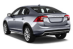 Car pictures of rear three quarter view of 2017 Volvo S60 T5 Platinum 4 Door Sedan angular rear