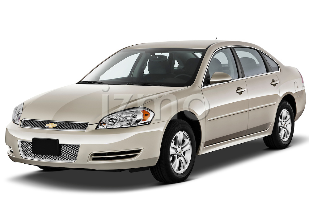 Front three quarter view of a 2012 Chevrolet Impala LS .