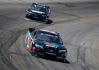 May 11, 2019; Tucson, AZ, USA; NASCAR K&N Pro Series driver Tanner Gray during practice for the Twin 100s at Tucson Speedway. Mandatory Credit: Mark J. Rebilas-USA TODAY Sports