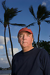 Author James Patterson photographed at his Palm Beach, Florida home on January 27, 2006 for Time Magazine