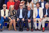 Michael HANEKE, Jane CAMPION, Thierry FREMEAUX, Ken LOACH, Nanni MORETTI et Costa GAVRAS - PHOTOCALL DES PERSONNALITES AU 70EME ANNIVERSAIRE DU FESTIVAL DU FILM CANNES