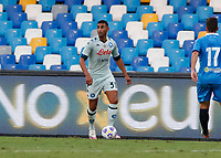 Faouzi Ghoulam during a friendly match Napoli - Pescara  at Stadio San Paoli in Naples