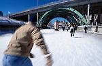 Skating along the Rideau