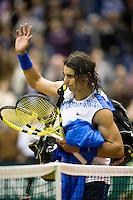 21-2-08, Netherlands, Rotterdam ABNAMROWTT 2008, Rafael Nadal  verslagen door Andreas Seppi.