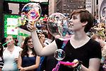 Bubble Battle Times Square NYC 2010