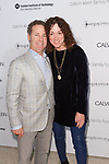Rich and Jill Granoff arrive at the Future of Fashion 2017 runway show at the Fashion Institute of Technology on May 8, 2017.