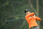 Seung Hyun Lee of South Korea tees off at the 14th hole during Round 4 of the World Ladies Championship 2016 on 13 March 2016 at Mission Hills Olazabal Golf Course in Dongguan, China. Photo by Victor Fraile / Power Sport Images