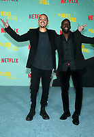 LOS ANGELES, CA - OCTOBER 13: Evan Ross, Elijah Kelley, at the Special Screening Of The Harder They Fall at The Shrine in Los Angeles, California on October 13, 2021. Credit: Faye Sadou/MediaPunch