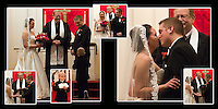 15th & 16th pages of one of the wedding albums we offer, designed, printed and bound by Ron Pradetto Photography.