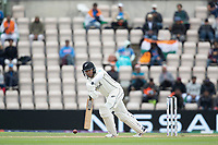 Ross Taylor, New Zealand pushes into the mid wicket area during India vs New Zealand, ICC World Test Championship Final Cricket at The Hampshire Bowl on 22nd June 2021