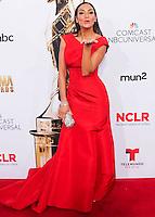 PASADENA, CA, USA - OCTOBER 10: Courtney Mazza arrives at the 2014 NCLR ALMA Awards held at the Pasadena Civic Auditorium on October 10, 2014 in Pasadena, California, United States. (Photo by Celebrity Monitor)